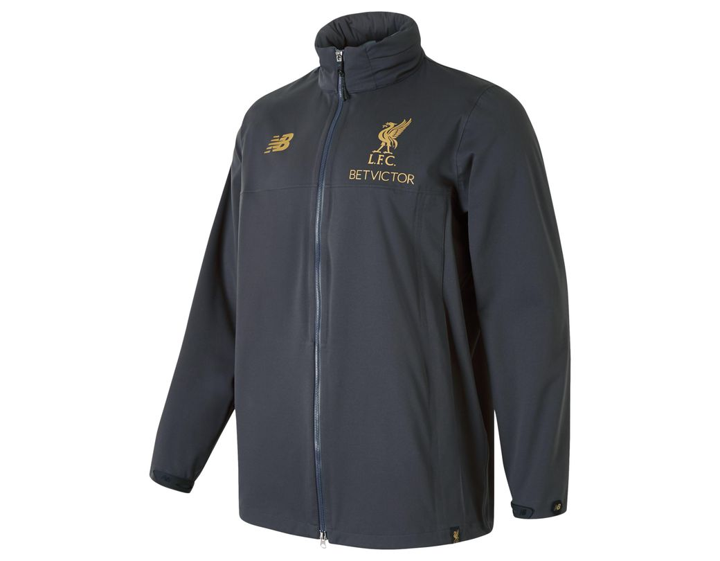5326aef0a4191 New Balance New Balance Liverpool Fc Managers Rain Jacket for Men - Lyst