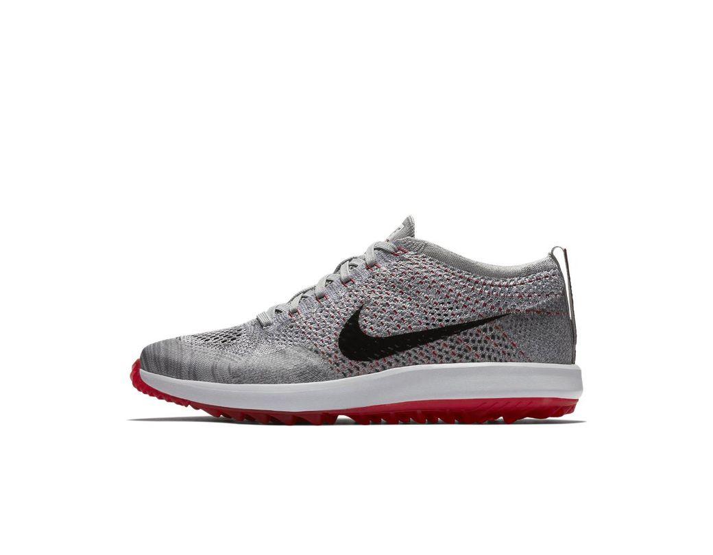 c8a951ba745e4 Lyst - Nike Flyknit Racer G Men s Golf Shoe in Gray for Men