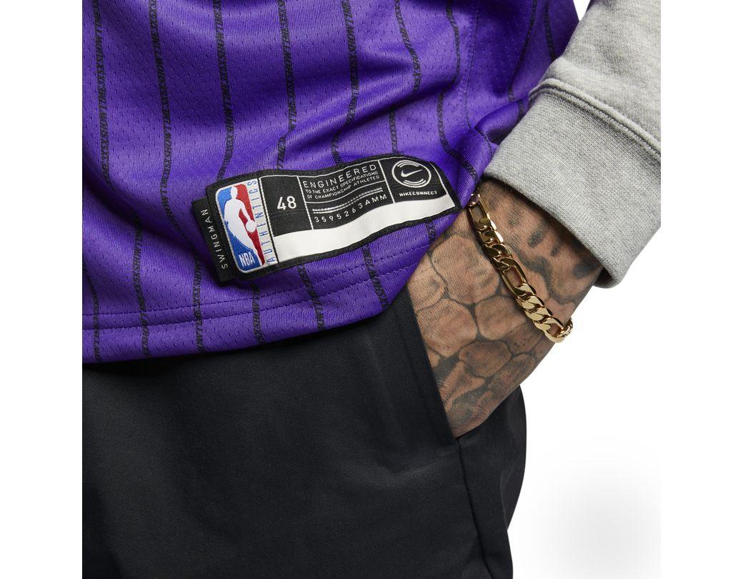 super popular 11014 bb70c Nike Lebron James Nba City Edition Swingman Jersey in Purple ...