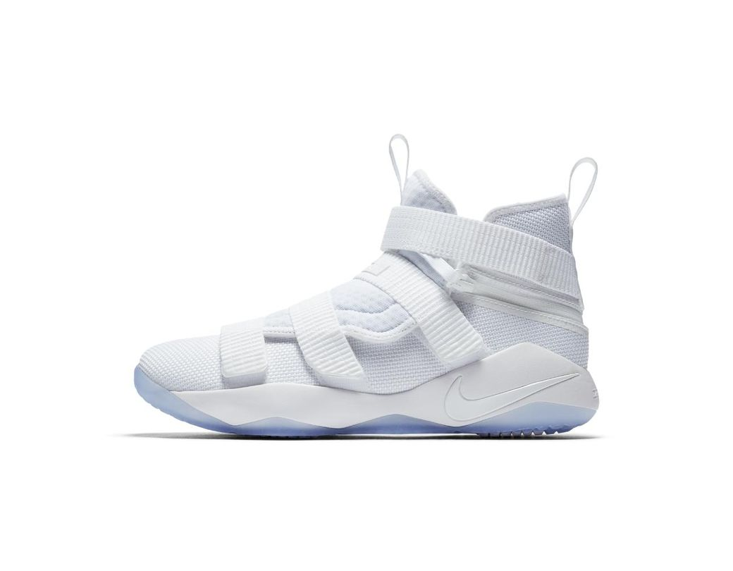 4916538a567 Lyst - Nike Lebron Soldier Xi Flyease Basketball Shoe in White for Men