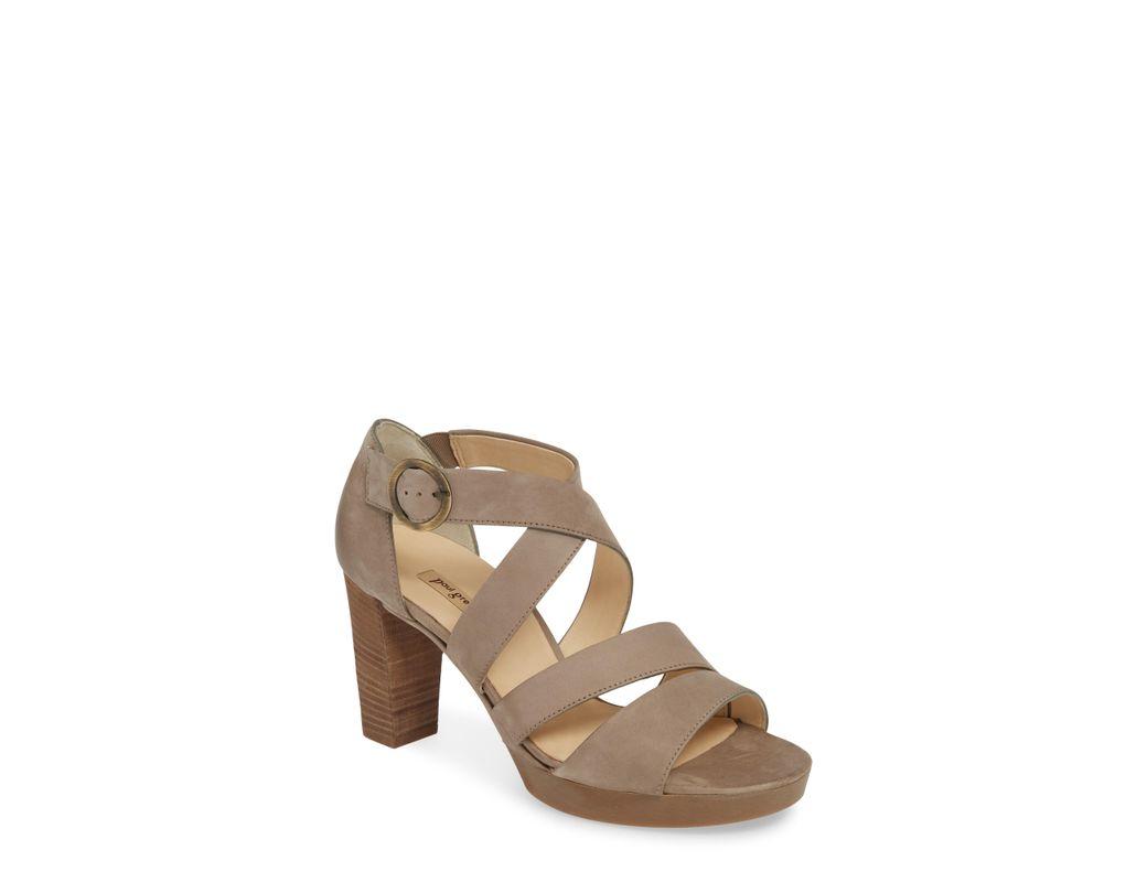 719fc78fe1ea Lyst - Paul Green Riviera Strappy Sandal in Black - Save 40%