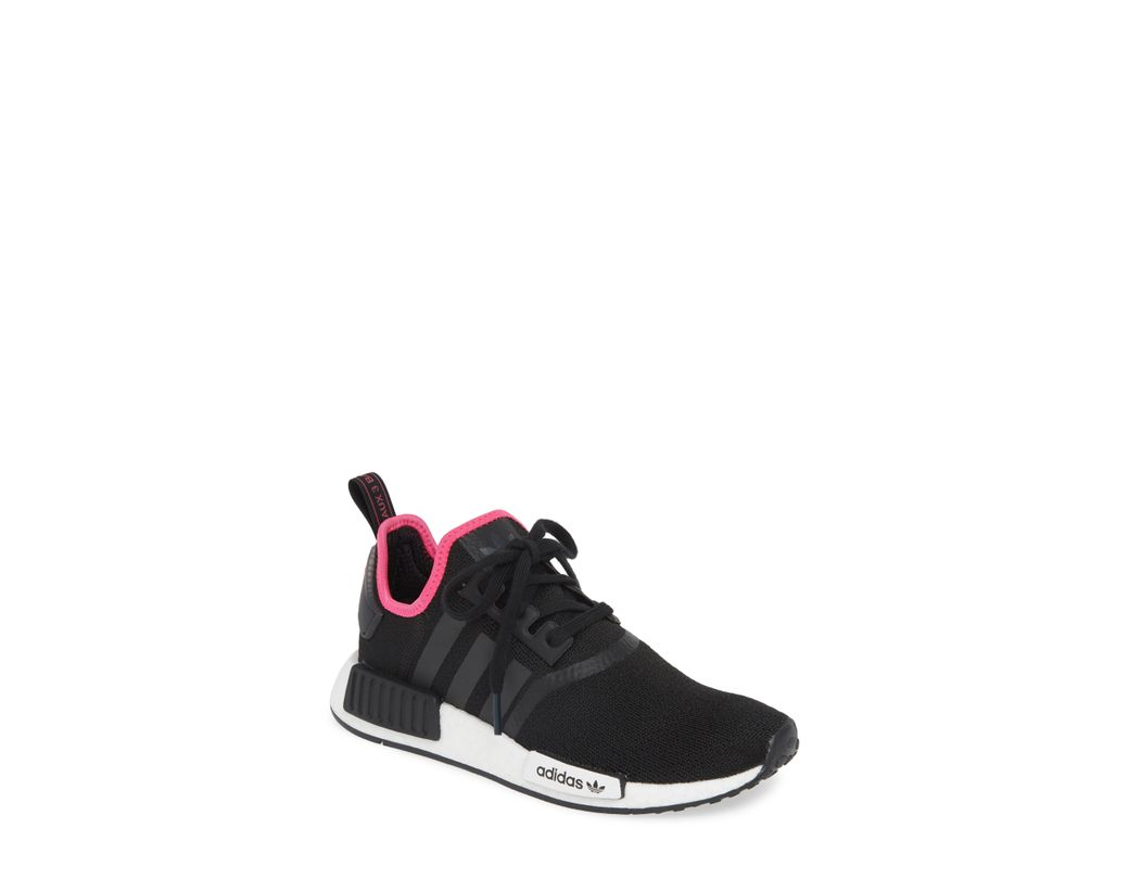 01556de2e35c0 Long-Touch to Zoom. Long-Touch to Zoom. 1  2. Adidas - Black Nmd R1  Athletic Shoe - Lyst ...