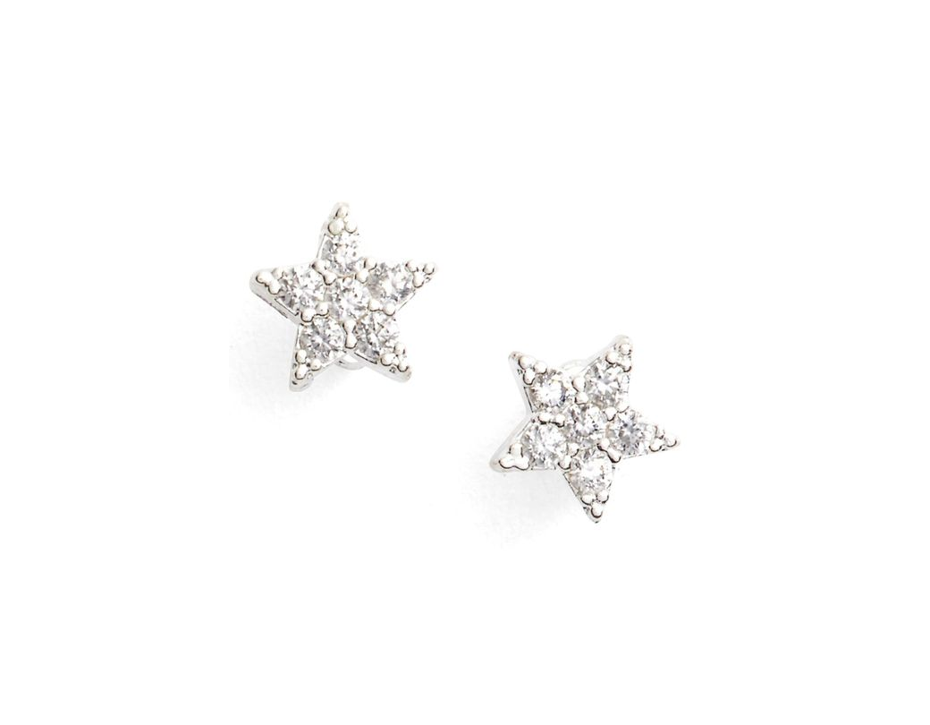 06d93192e Lyst - Estella Bartlett Shine Bright Star Stud Earrings in Metallic