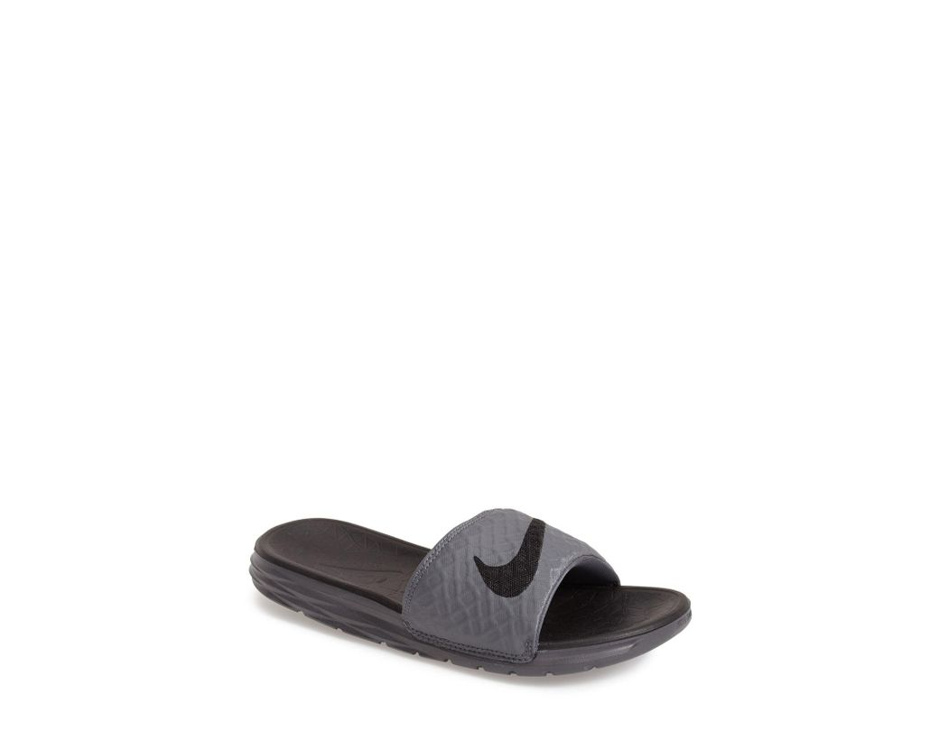 bc894354b Lyst - Nike  benassi Solarsoft 2  Slide Sandal in Red for Men - Save 43%