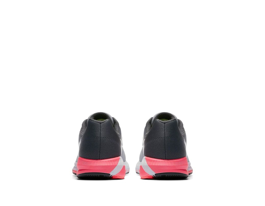 timeless design 42737 296a7 Nike. Gray Air Zoom Structure 21 Running Shoe (women)