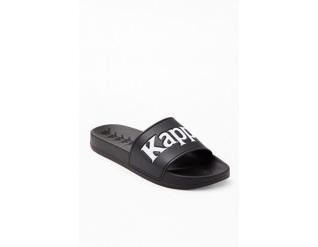 53549ad0daaf Lyst - Kappa 222 Banda Adam 9 Slide Sandals in Black for Men
