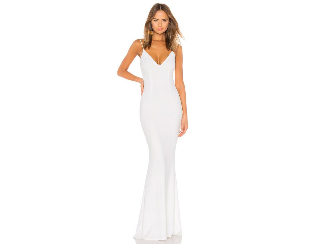 471267cbd74ed Katie May Bambi Gown in White - Lyst