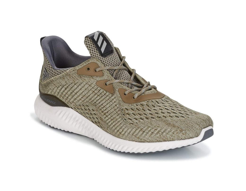 e91feecdede01 adidas Alphabounce Em M Running Trainers in Green for Men - Save 60 ...