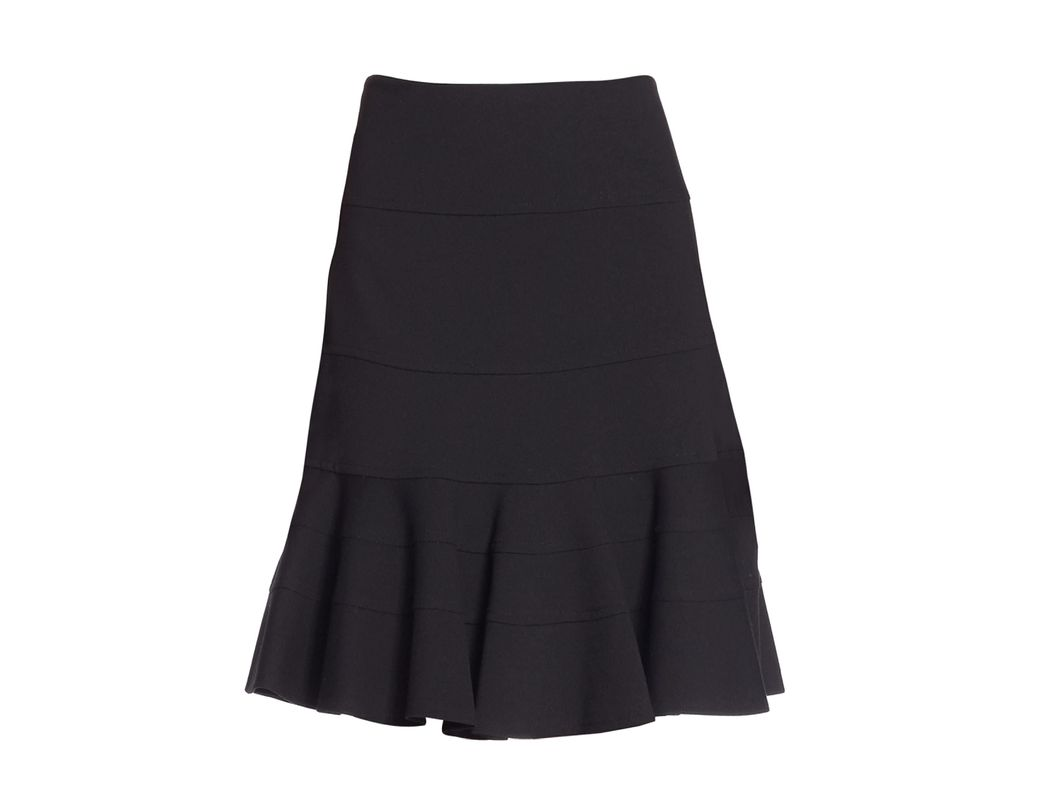 563a678301 Akris Punto Women's Elements Jersey Flippy Skirt - Black in Black - Lyst