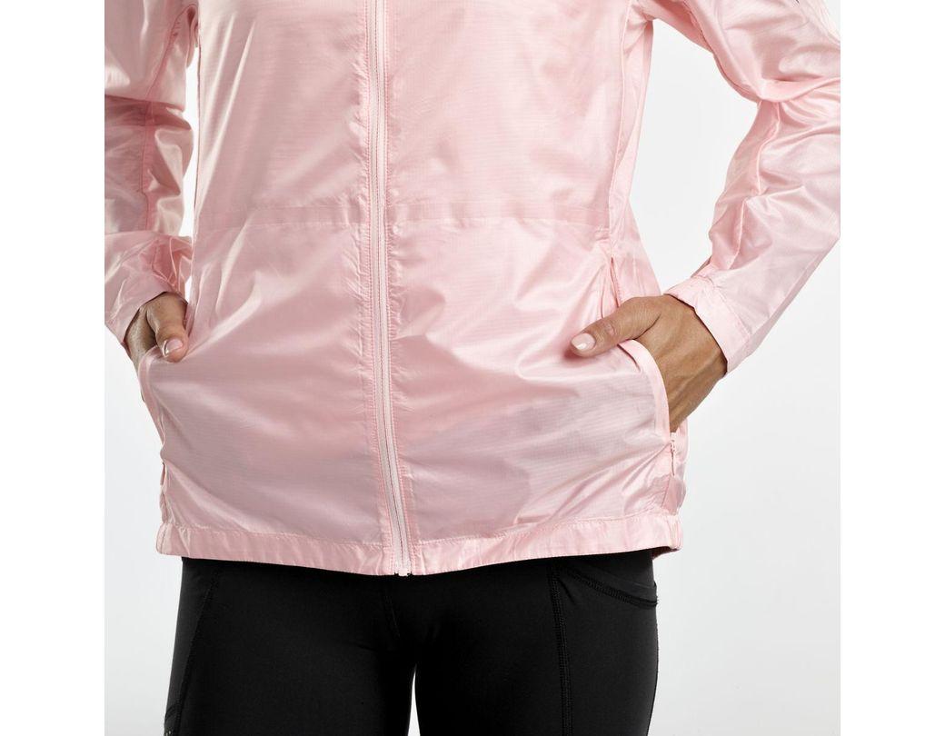44bbe3dca7 Women's Pink Pack-it Run Jacket