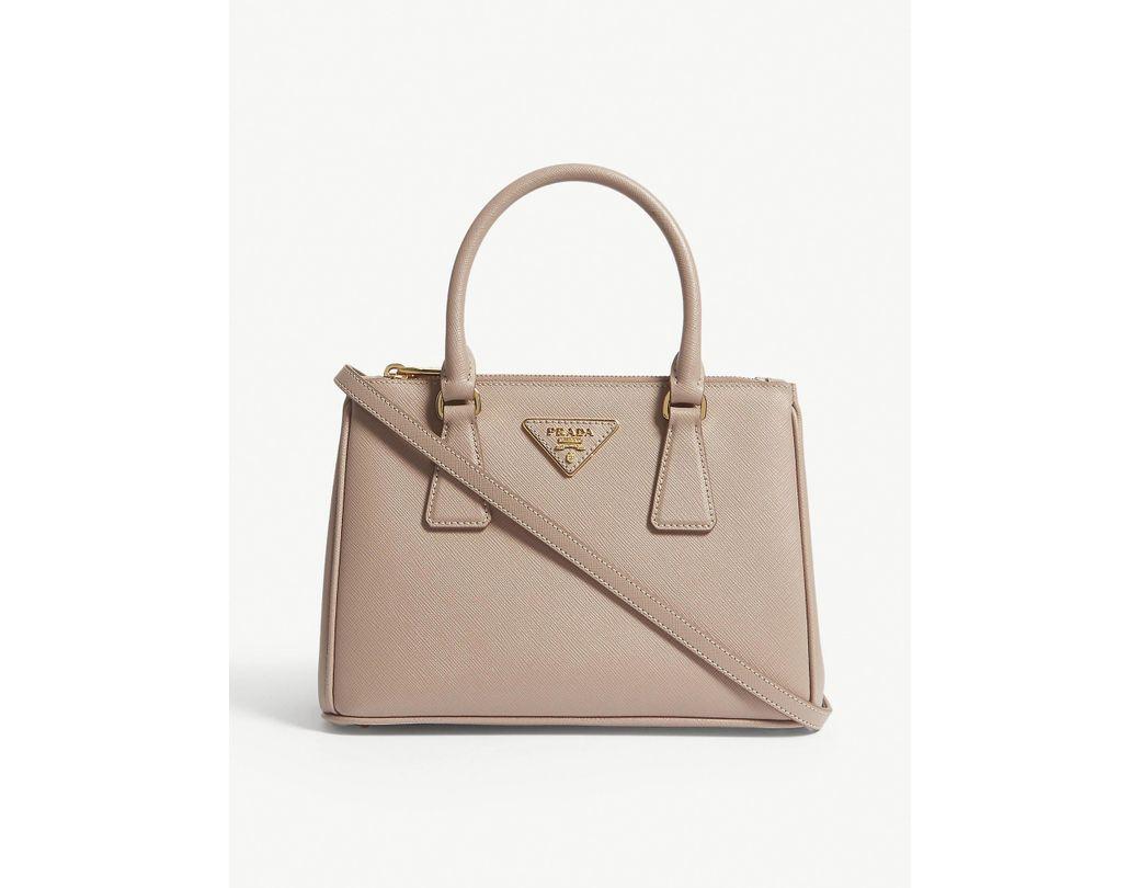 890e64953525 Lyst - Prada Cipria Pink Galleria Leather Tote Bag in Pink