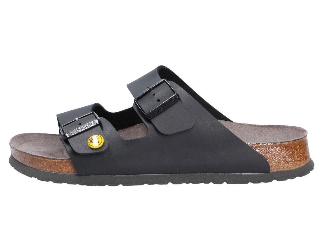 5f6be6342ba Birkenstock Clogs Black Arizona Esd slipper  in Black for Men - Lyst