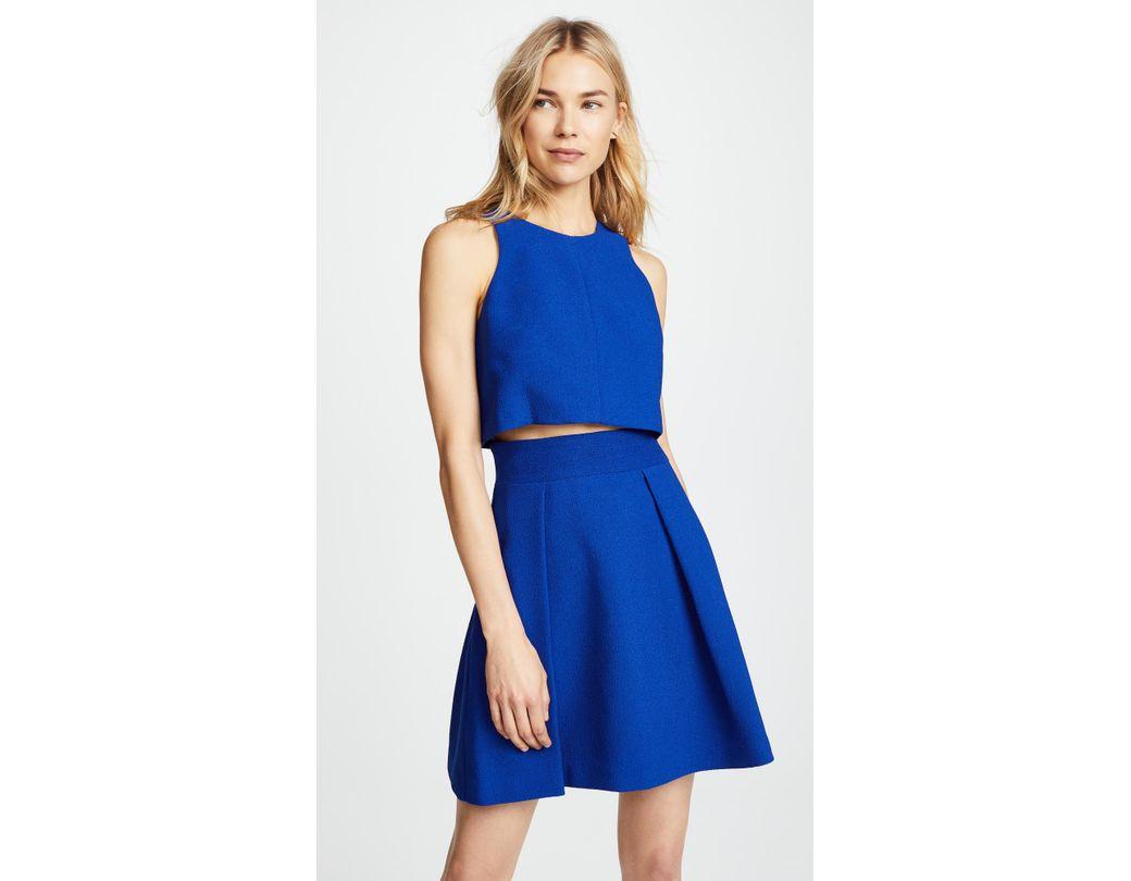 2d81b9c178a Black Halo Sanibel 2 Piece Mini Dress in Blue - Lyst