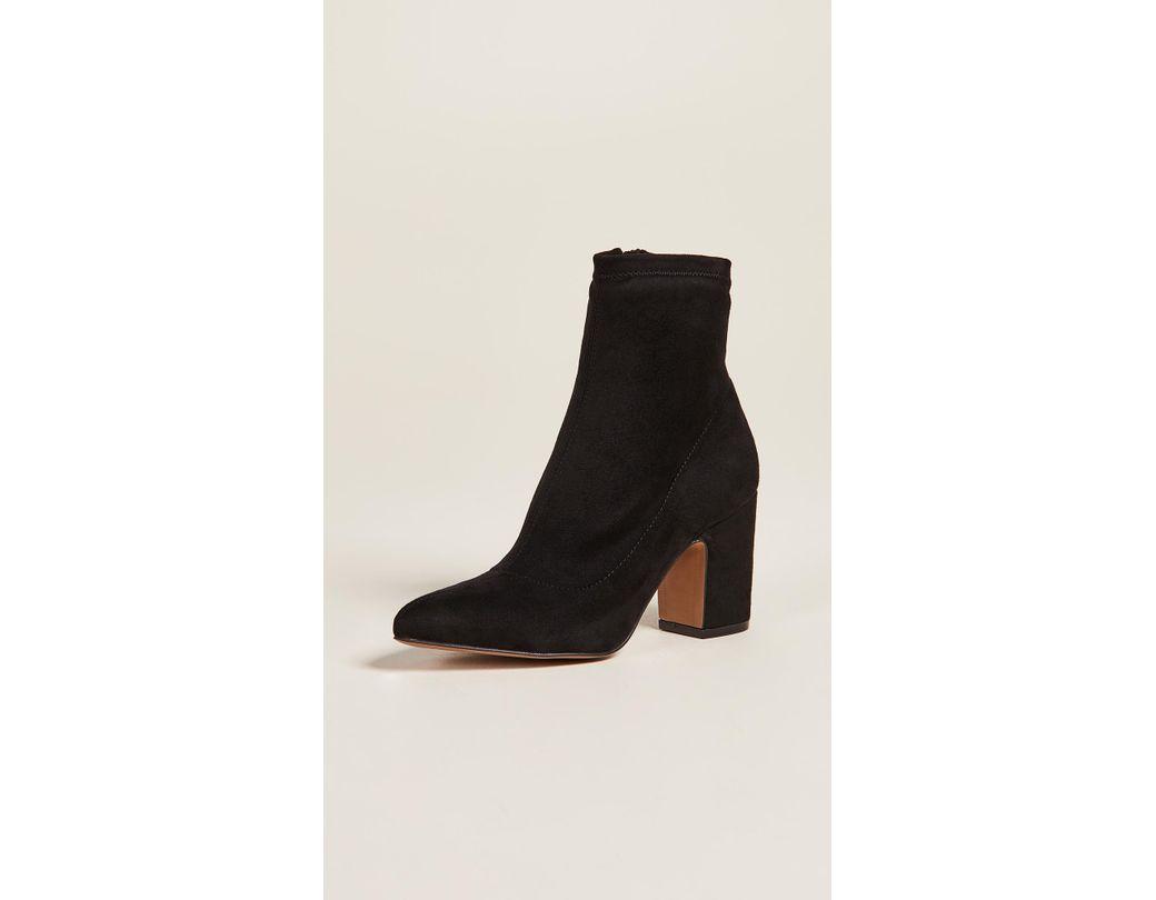 aea039454c4a Steven by Steve Madden. Women s Black Leandra Block Heel Ankle Booties