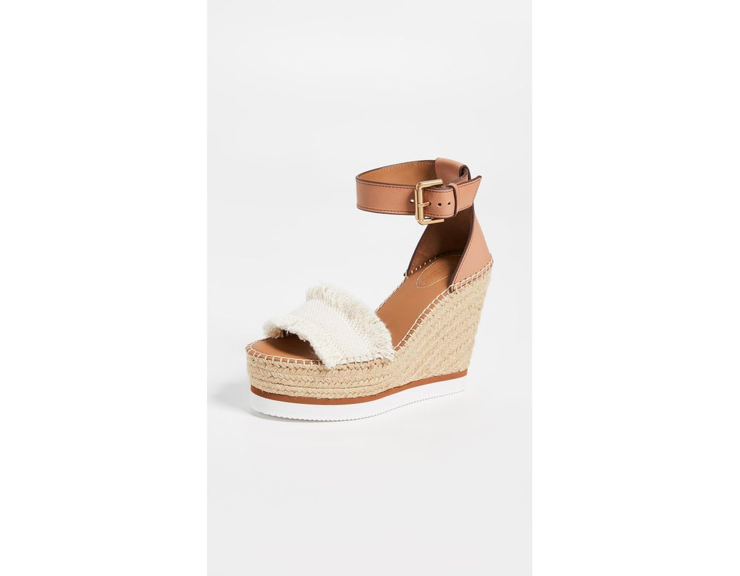 1376bcd81 See By Chloé Glyn Wedge Espadrilles - Save 15% - Lyst