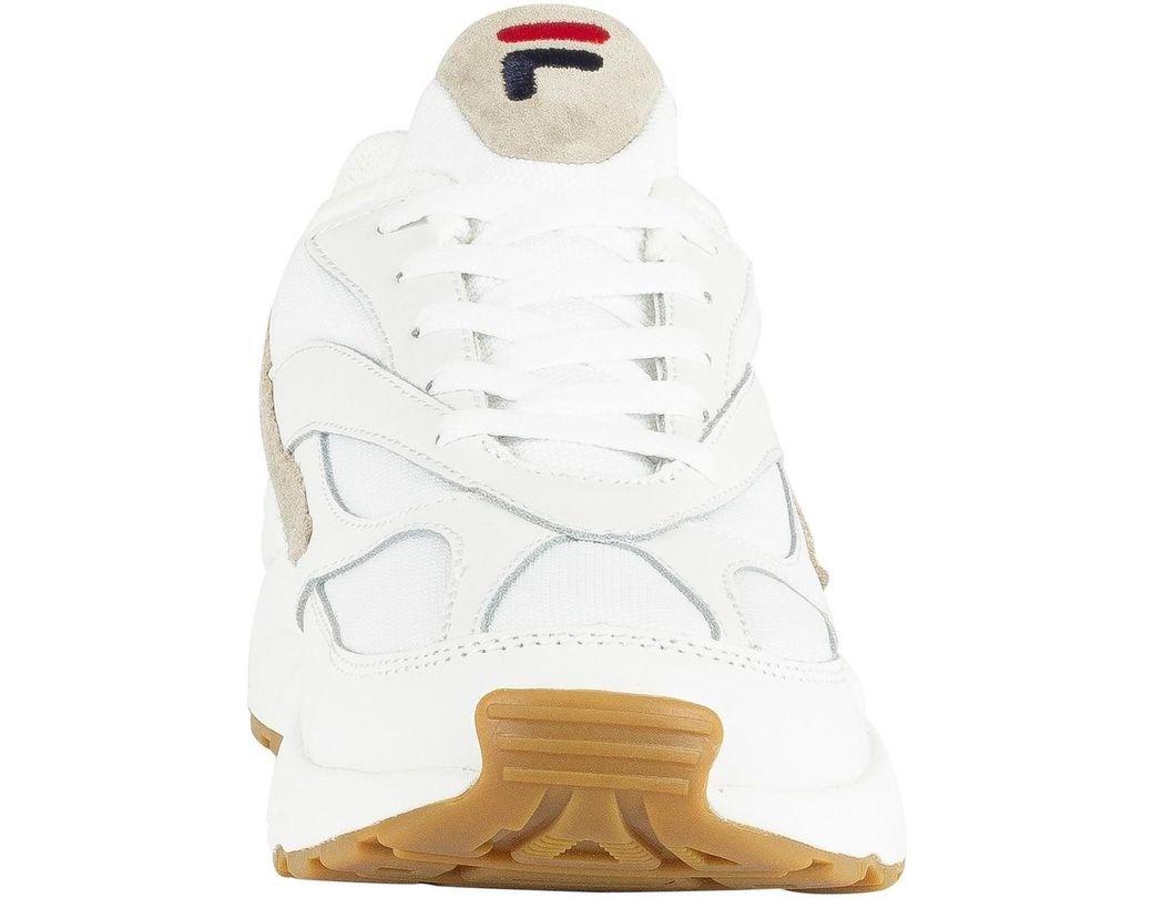 Baskets BassesBlanc Homme Hommes Chaussures Fila Pour 94 En