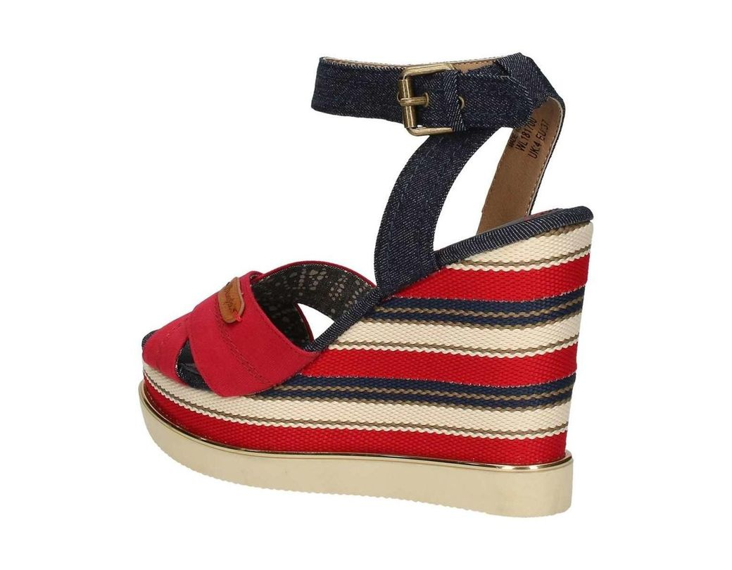 Femmes Wl181700 Aq35jr4cls Rouge Sandales En WE9DIH2