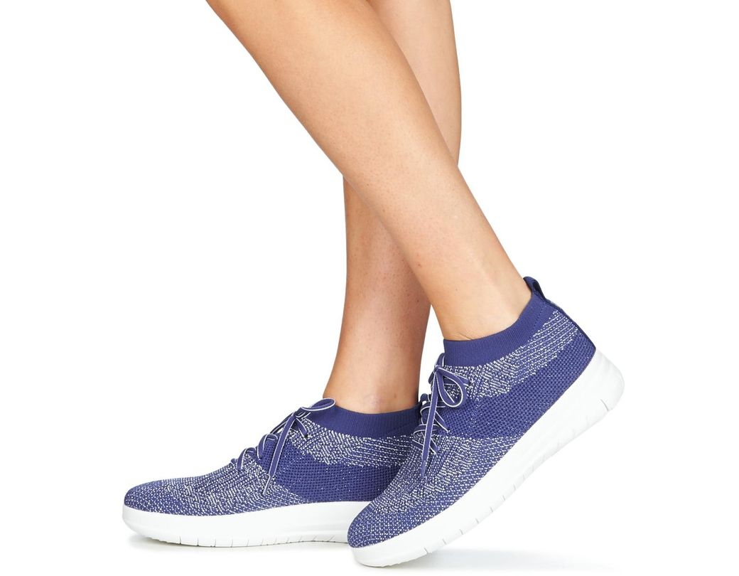 e9d7157da Fitflop Uberknit Slip-on High Top Sneaker Shoes (high-top Trainers ...