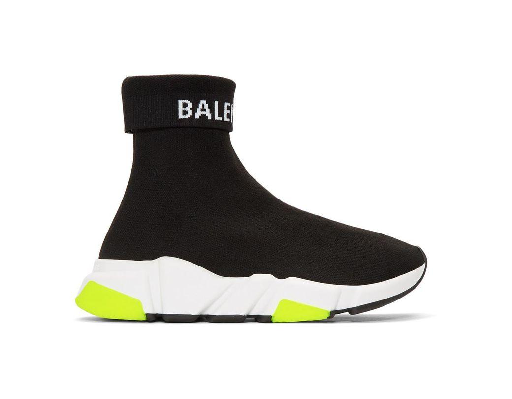 e12fda620c7 Lyst - Balenciaga Speed Sneakers in Black - Save 23%