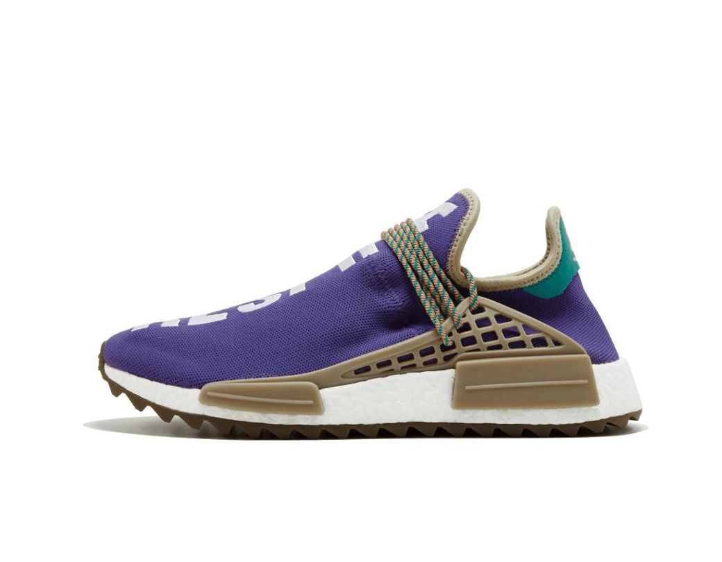 check out cafe3 e897a Lyst - adidas Pharrell Williams Human Race Nmd Tr in Purple for Men