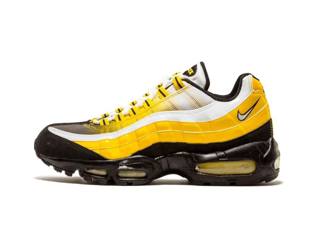 on sale 90987 f84ae Men's Yellow Air Max 95 - Size 8.5