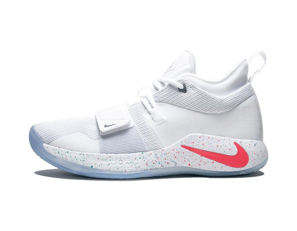 free shipping be8b7 512f4 Nike. Men s White Pg 2.5 Playstation