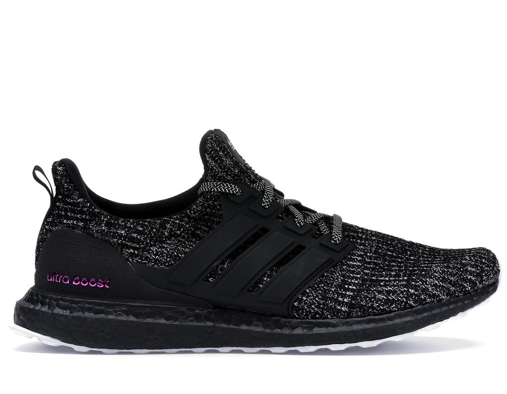 best sneakers db1d8 31cde Men's Black Ultra Boost 4.0 Breast Cancer Awareness