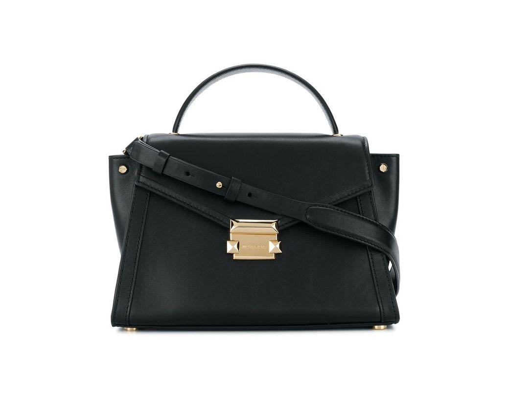 0db9d9fe8d68 MICHAEL Michael Kors Whitney Leather Shoulder Bag in Black - Lyst