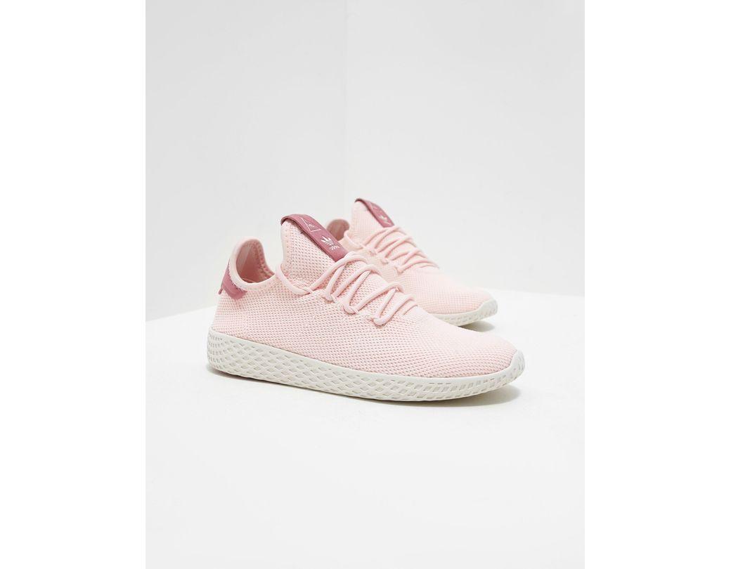b674ed022 adidas Originals X Pharrell Williams Tennis Hu Trainers Pink in Pink ...