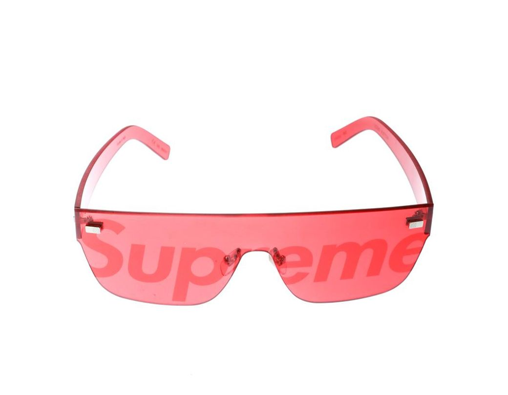 ae0333a9221b4 Louis Vuitton X Supreme Red Z0985u City Mask Shield Sunglasses in Red for  Men - Lyst