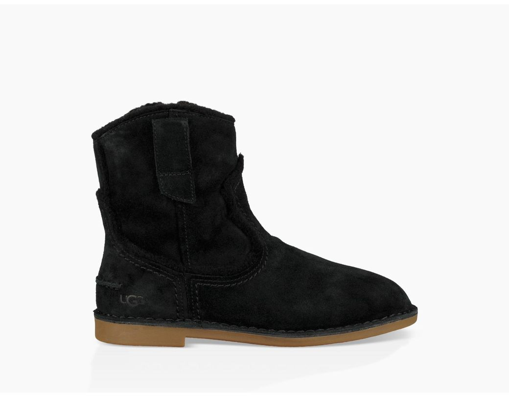 ceded59ea81 Ugg Black Women's Catica Ankle Boot