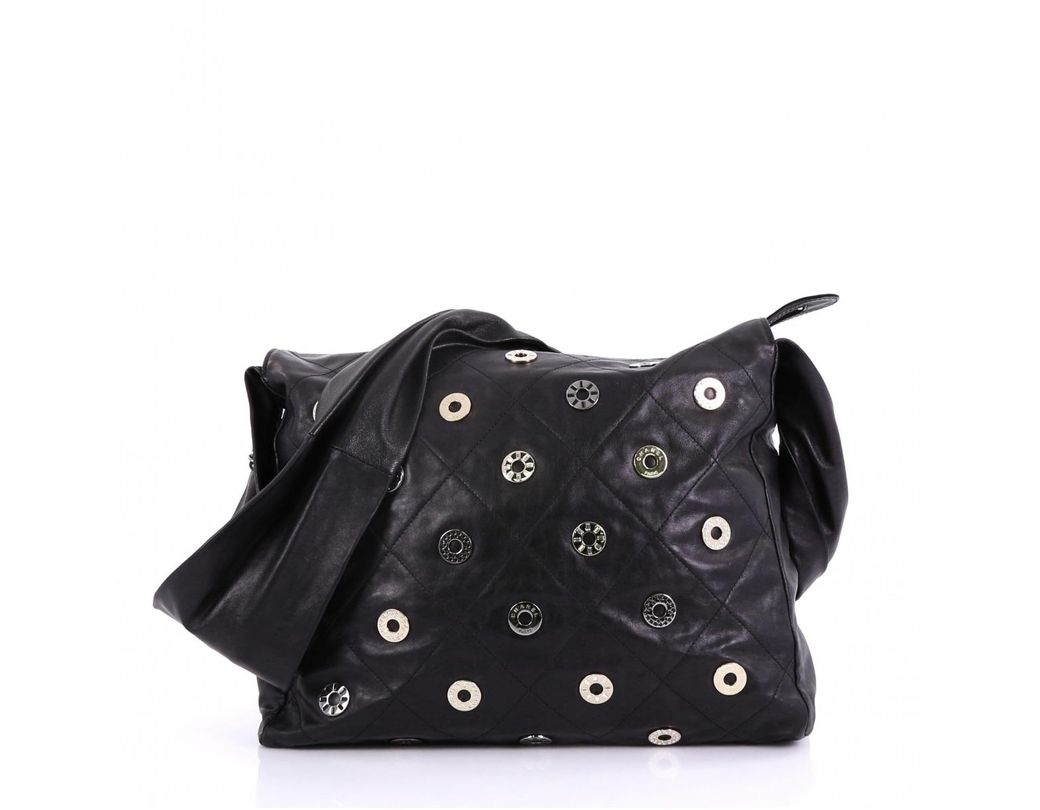 81372b854 Chanel. Women's Pre-owned Black Leather Handbags. $1,155 From Vestiaire  Collective