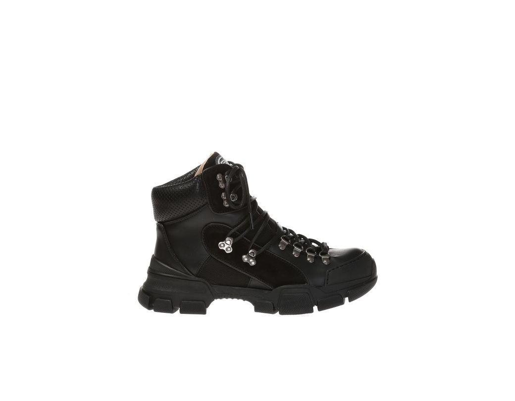 7a0eec6e0c0 Gucci Flashtrek Ankle Boots in Black for Men - Save 22% - Lyst
