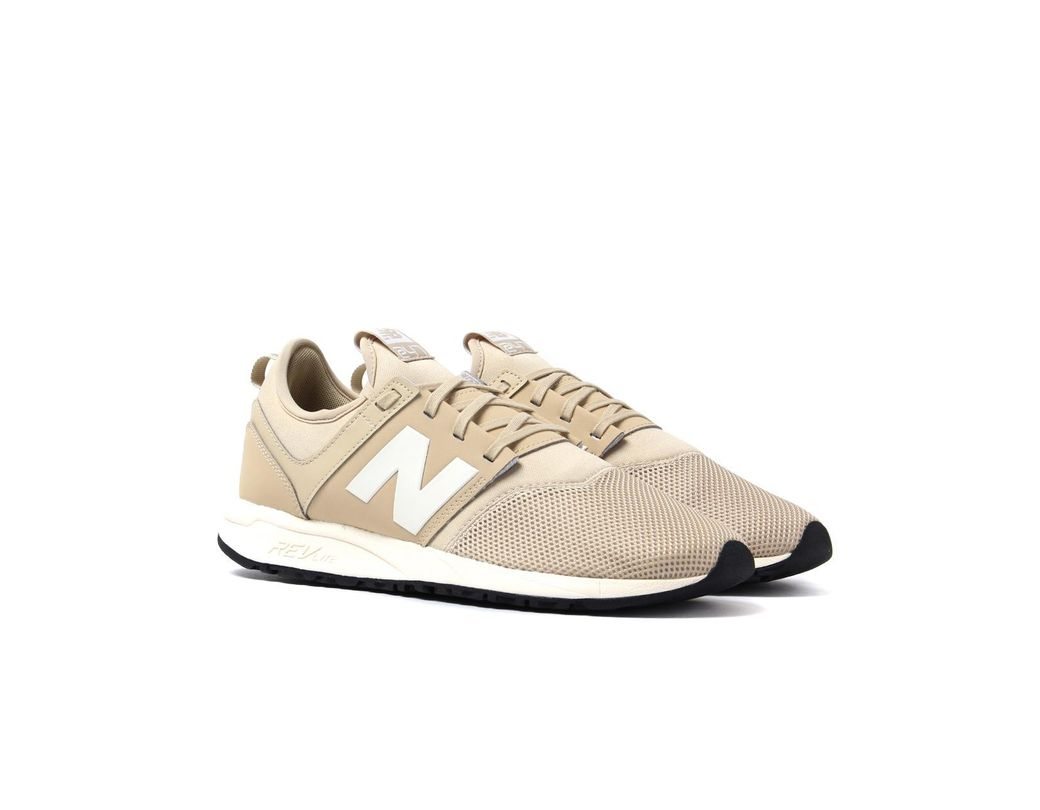 dae40d5be2d65 New Balance 247 Beige Trainers in Natural for Men - Lyst