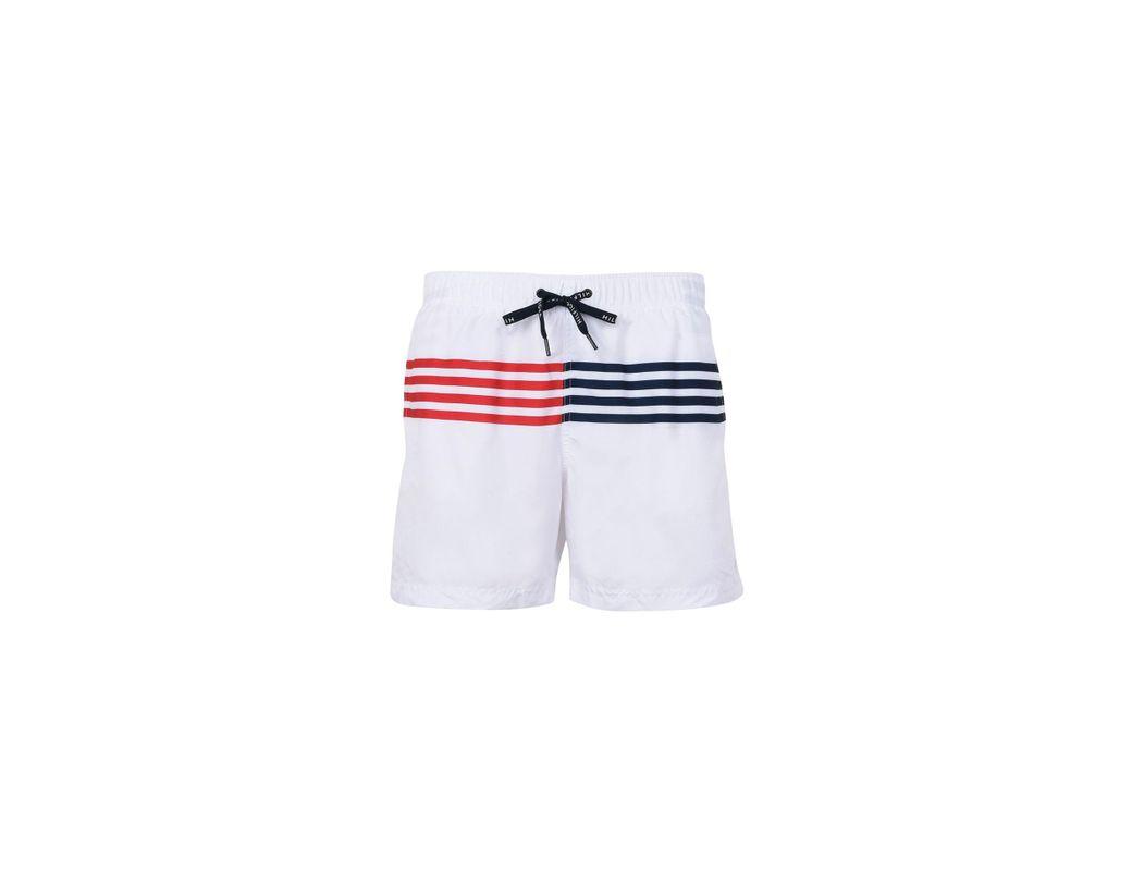 Bain De Short Blanc Homme Coloris 4c5R3LjqSA