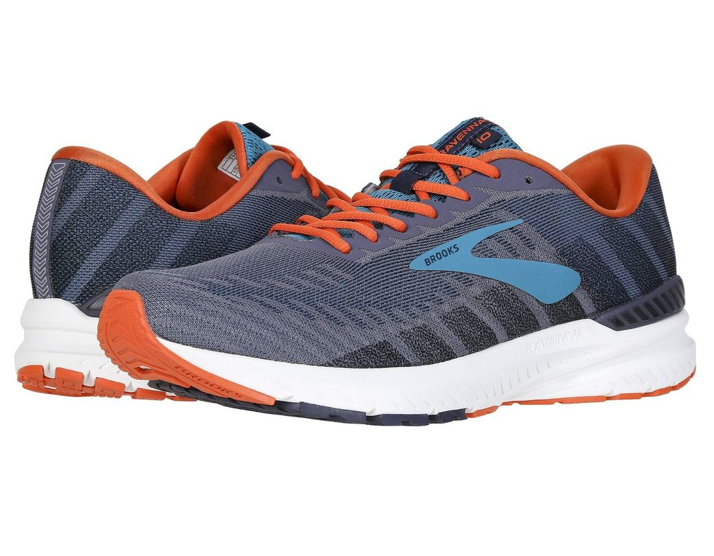 b7f02a4e43f Long-Touch to Zoom. Long-Touch to Zoom. 1  2  3  4  5  6  7. Brooks - Ravenna  10 (alloy blue nightlife) Men s Running Shoes ...