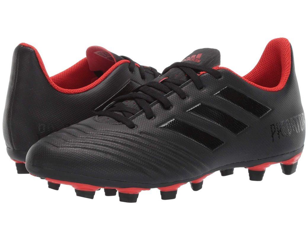 06867c9b27d adidas Predator 19.4 Fxg (core Black core Black active Red) Men s Soccer  Shoes in Black for Men - Lyst