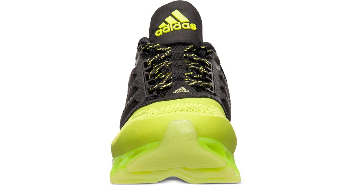 new styles 446e5 7e379 coupon code for lyst adidas mens springblade drive 2.0 running sneakers  from finish line in yellow