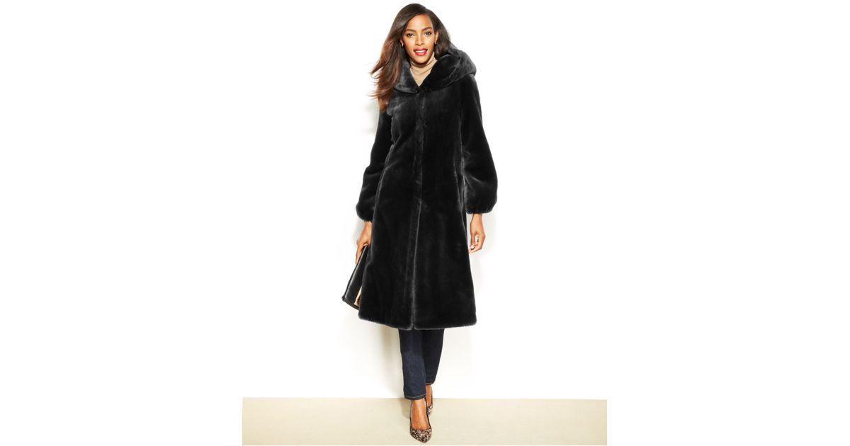 7fbef750dcdf Jones Ny Coats New York Faux Fur Coat Leopard Print Textrev