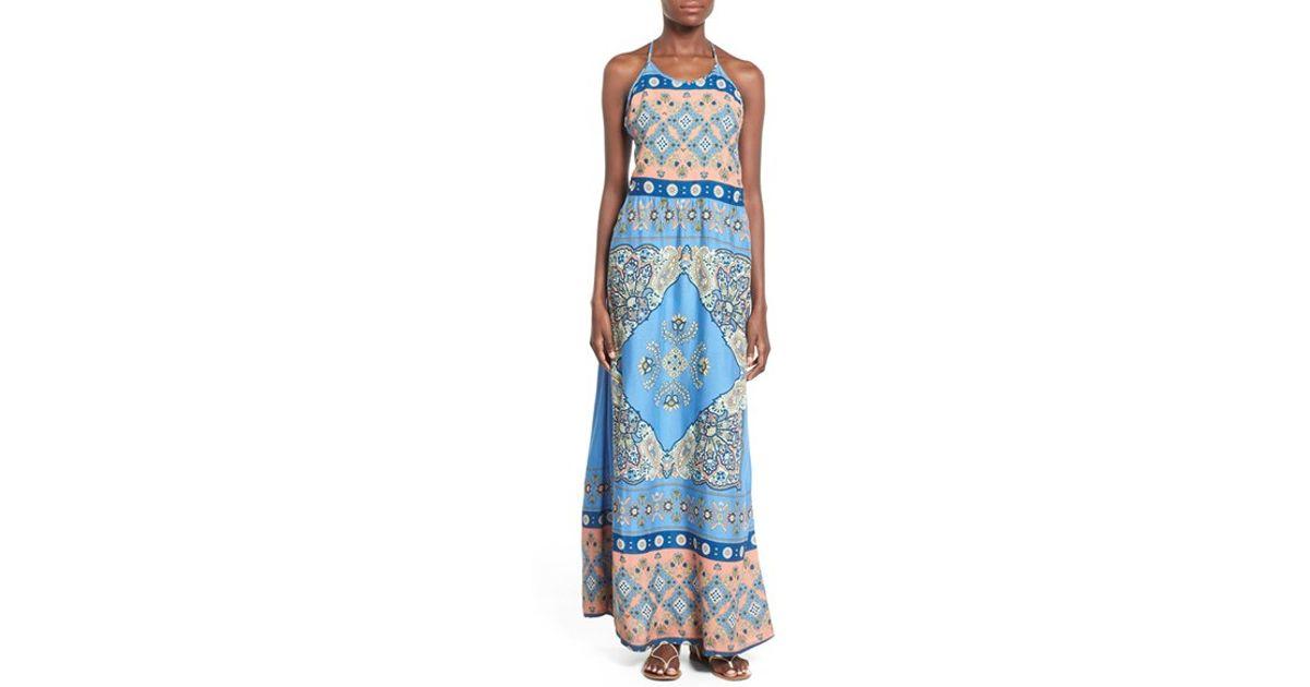 8bc67615a652 Lyst - Roxy  summer Fleet  Print Maxi Dress