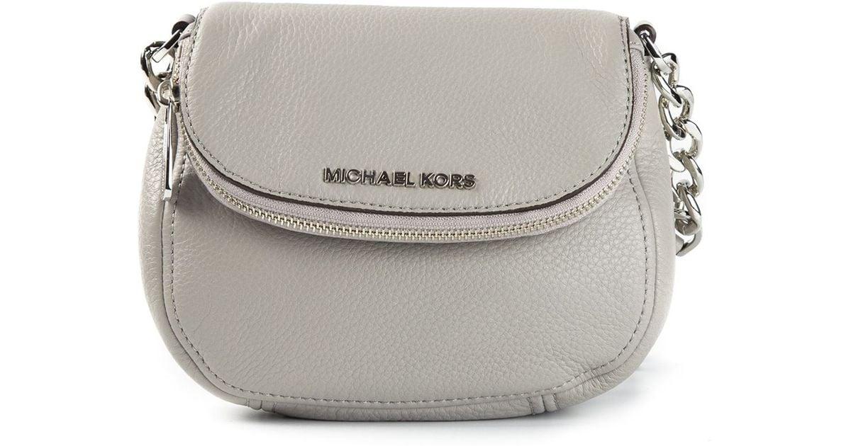 2c873a437165 ... bag shopbop 52b5a e41d5; shopping lyst michael michael kors bedford  flap crossbody in gray d7c4a b10fc