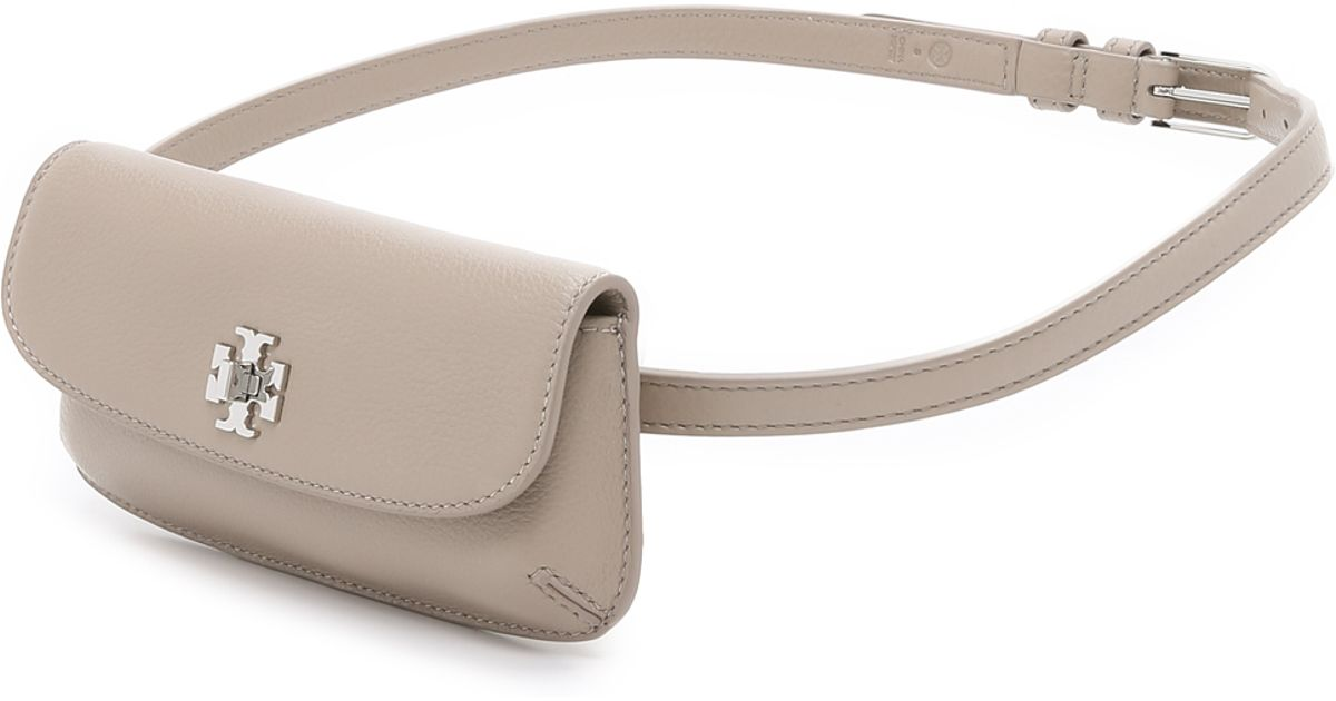 2c7fd818fd7 Lyst - Tory Burch Diana Fanny Pack - French Grey in Gray