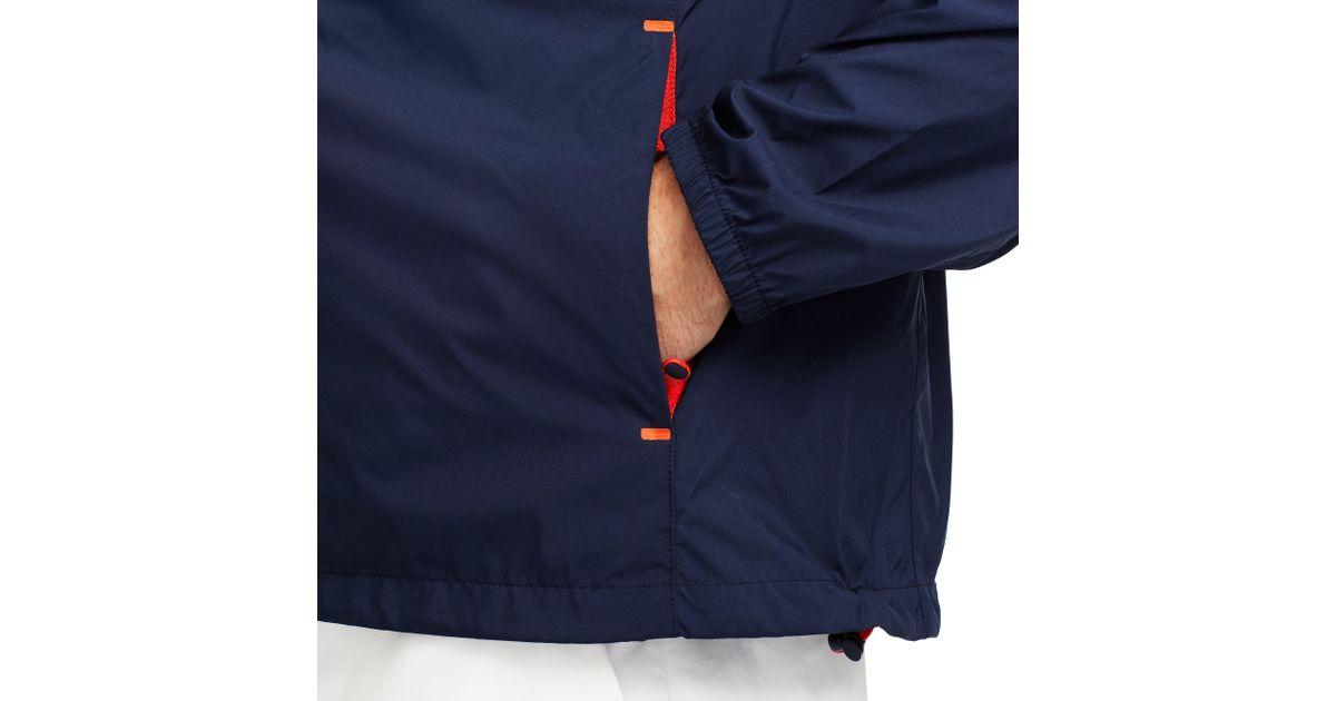 Blue For Ralph Polo Jacket Tournament Lauren Windbreaker Men D9WH2eEIY