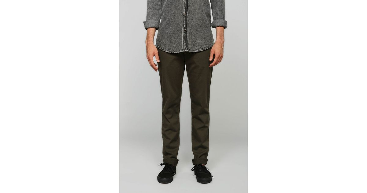 Perfect CCS Clipper Straight Fit Chino Pants  Grey