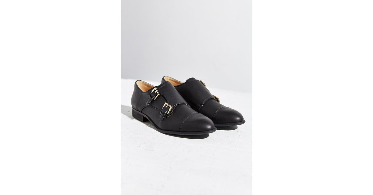 100dd378428 Lyst - Urban Outfitters Monk Strap Loafer in Black