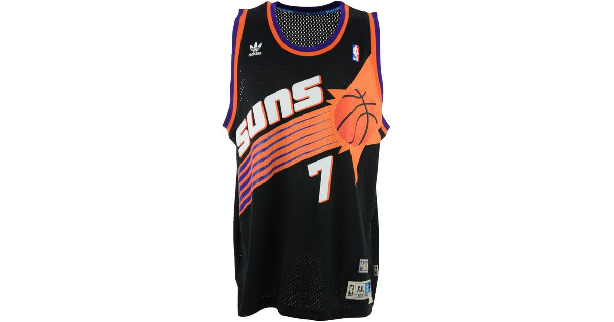 5a654c0fd72 Lyst - adidas Originals Kevin Johnson Phoenix Suns Swingman Jersey in Black  for Men