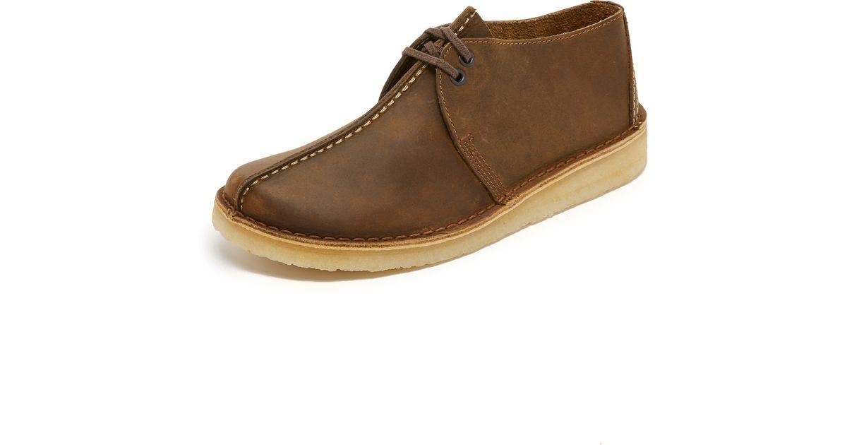 Clarks Desert Trek Boots In Brown For Men Lyst