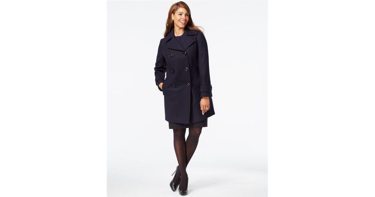 Plus Size Womens Pea Coat - Tradingbasis