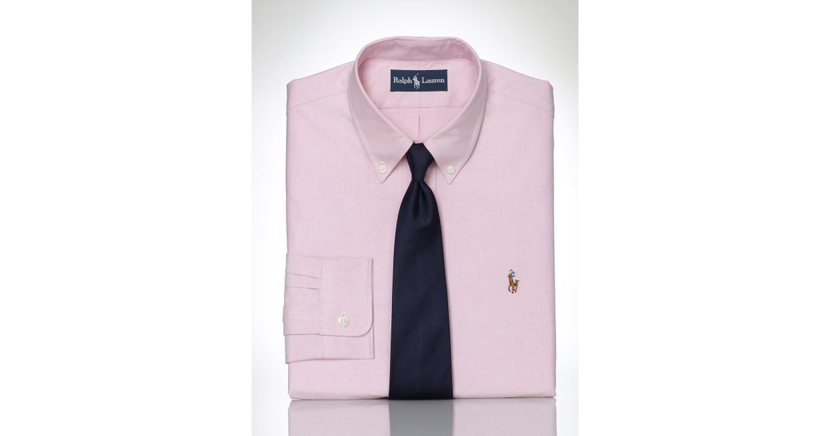 Pink Pony Pinpoint Oxford Dress Shirt In Pink For Men Lyst