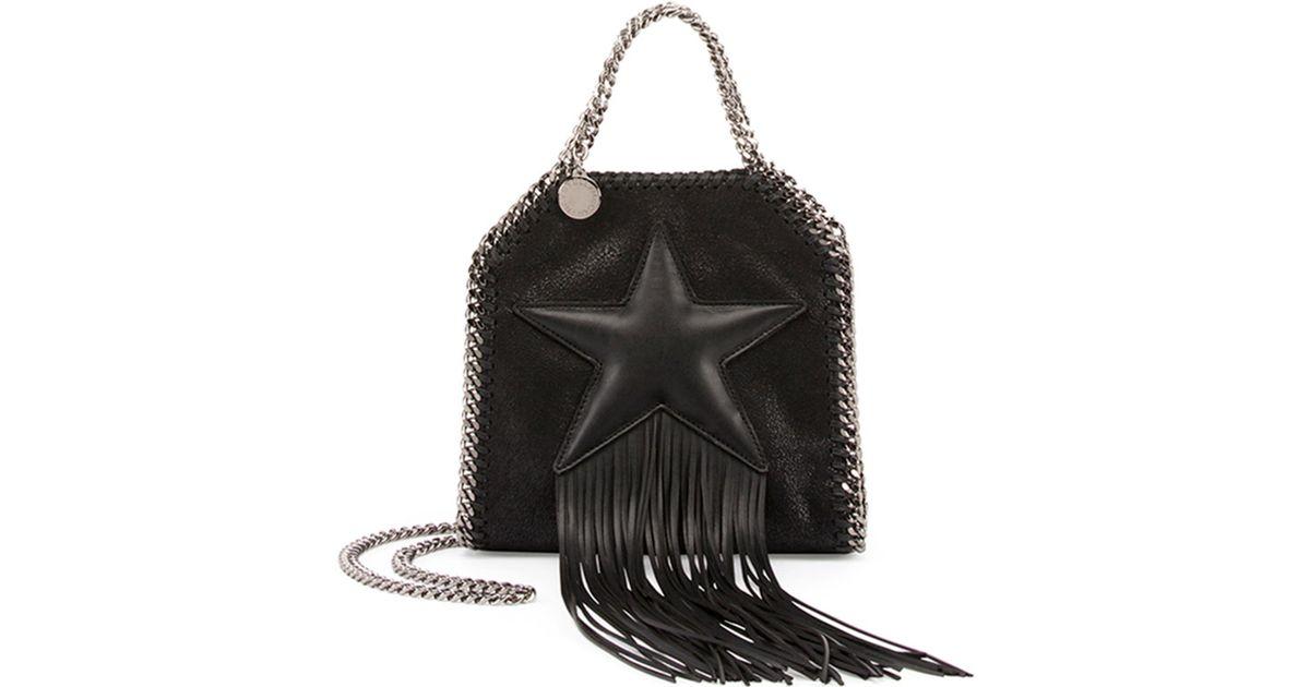 Star crossbody bag - Black Stella McCartney 932uI